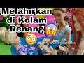 barbie hamil melahirkan bermain kolam renang cerita drama dongeng anak barbie bahasa indonesia
