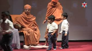 An inspiring play by kids aged 2 to 8 years on the teachings of A.M.A.Gunatitanand Swami