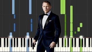 Skyfall - James Bond Theme - Adele [Piano Tutorial] (Synthesia)