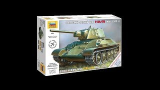 Т-34-76 1/72 Зірка артикул 5001 Огляд