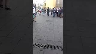 Кыргыздар москвада драка...