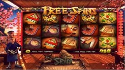 Betsoft Slots Sushi Bar Gameplay Bonus Free Spins