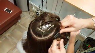 Ленточное наращивание волос, обзор, как наращивают волосы на лентах
