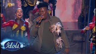 Top 7 Showstopper: King B -  'Inde' – Idols SA | Mzansi Magic