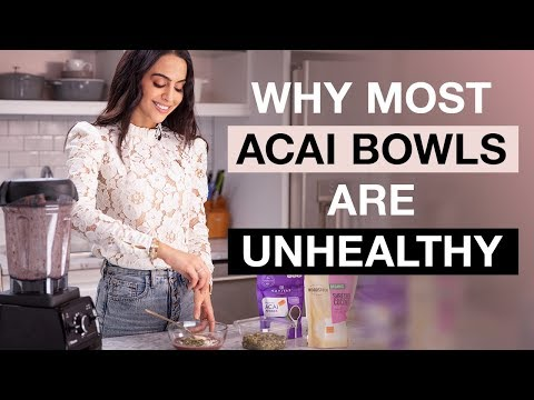 Healthy Recipes Acai Bowl Recipe Easy   Dr Mona Vand