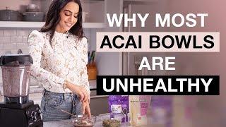 Healthy Recipes - Acai Bowl Recipe - Easy  Dr Mona Vand