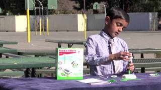 Build A Windmill And Plane Using Solar Panel With Vinit