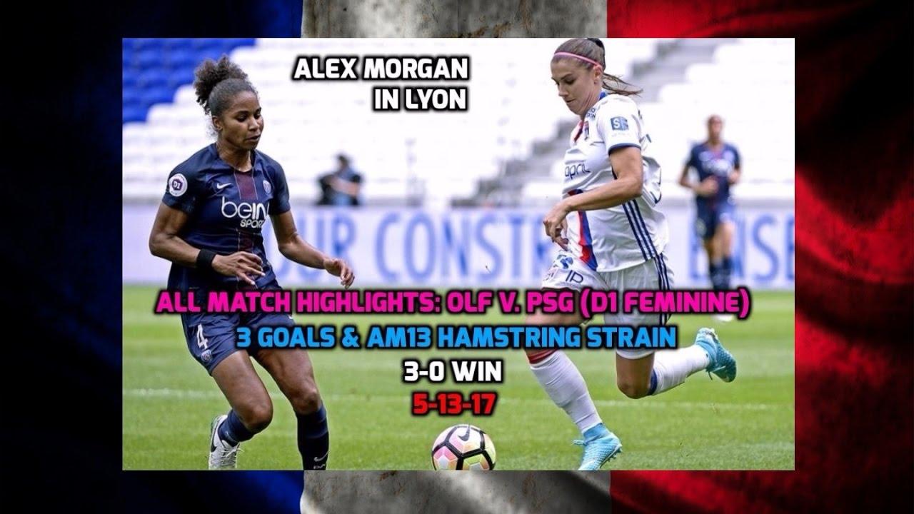 3d4cc649c D1 Feminine - Alex Morgan   OLF ALL Match Highlights v. PSG (3 Goals ...