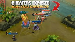 10 GLOBAL TOP PLAYERS CAUGHT CHEATING! 100% EXPOSED FULL GAMEPLAY| Mobile Legends