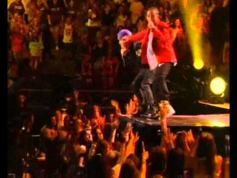 Justin Bieber And Jaden Smith Never Say Never At Madison Square Garden On August 31 2010 Youtube