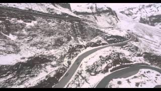 Großglocknerstraße - Driving Beautiful Snowy Mountain Pass in Austria