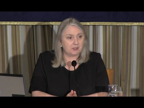 """Jane Pearce: """"The Humanitarian Crisis in Iraq and Expectations for Japan"""""""