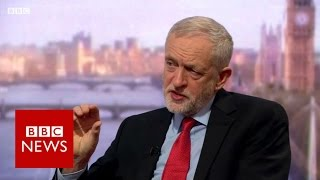 Jeremy Corbyn on Trump, Brexit, NHS, immigration & media bias - BBC News