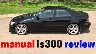 2002 is300 in-depth review - manual transmission