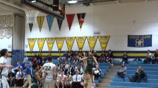 Kyle LaRocca hits a three to end the 3rd