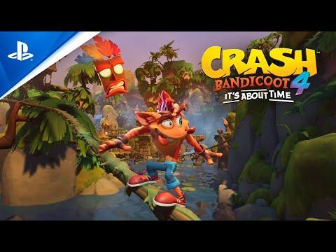 Crash Bandicoot 4: It's About Time | Announcement Trailer | PS4