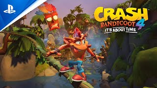 Crash Bandicoot 4: It's About Time | Announcement Trailer | PS4