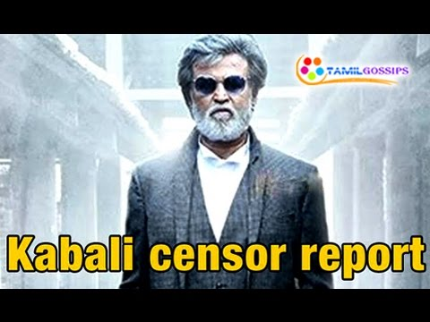 Kabali Censor Tension | Dhanu Accepted for...