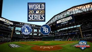 MLB en VIVO DODGERS vs RAYS - World Series 2020 Game 3