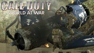 Жёсткая посадка Call of Duty 5 World at War - Прохождение 3 миссии