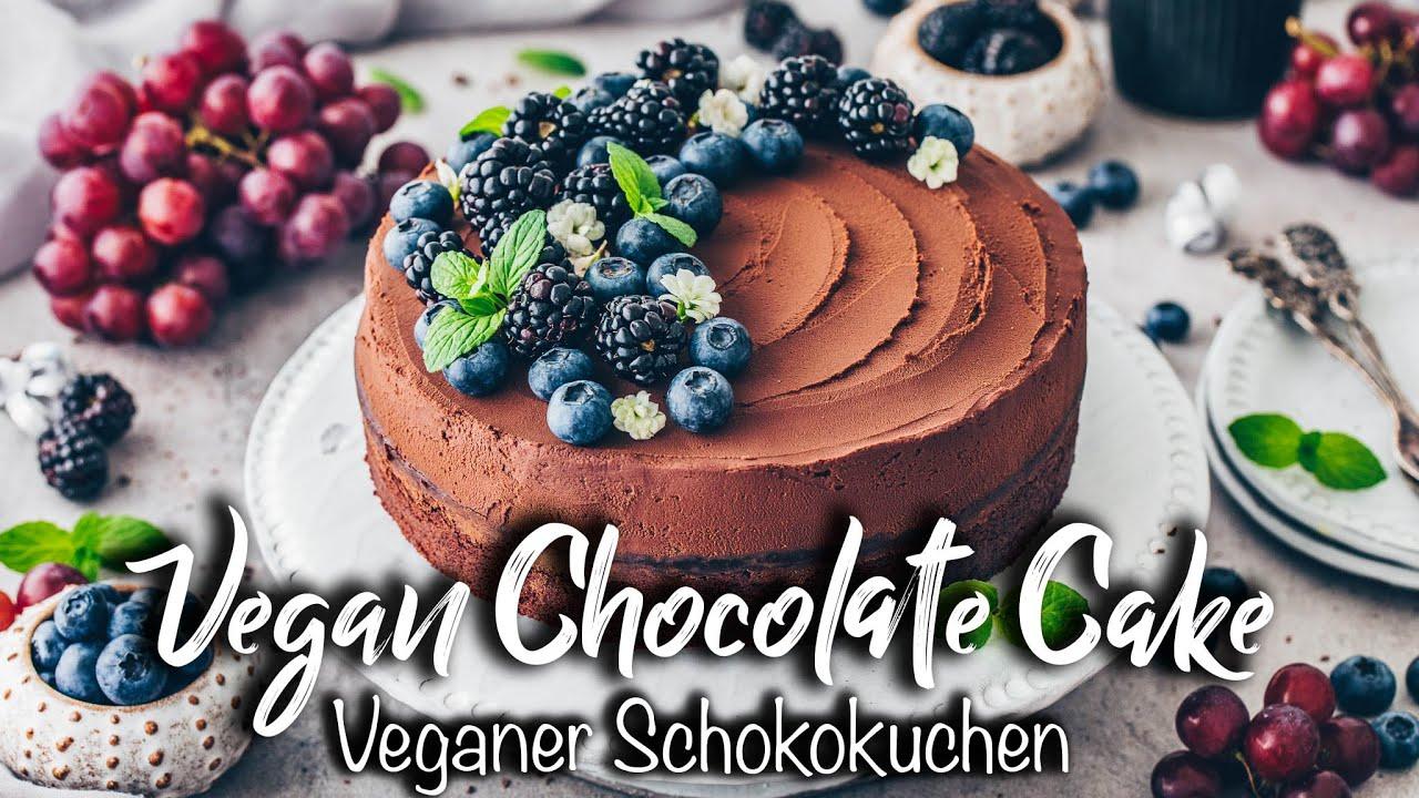 Der BESTE Vegane Schokokuchen | Schnell & Einfach in einer Schüssel! *Rezept*