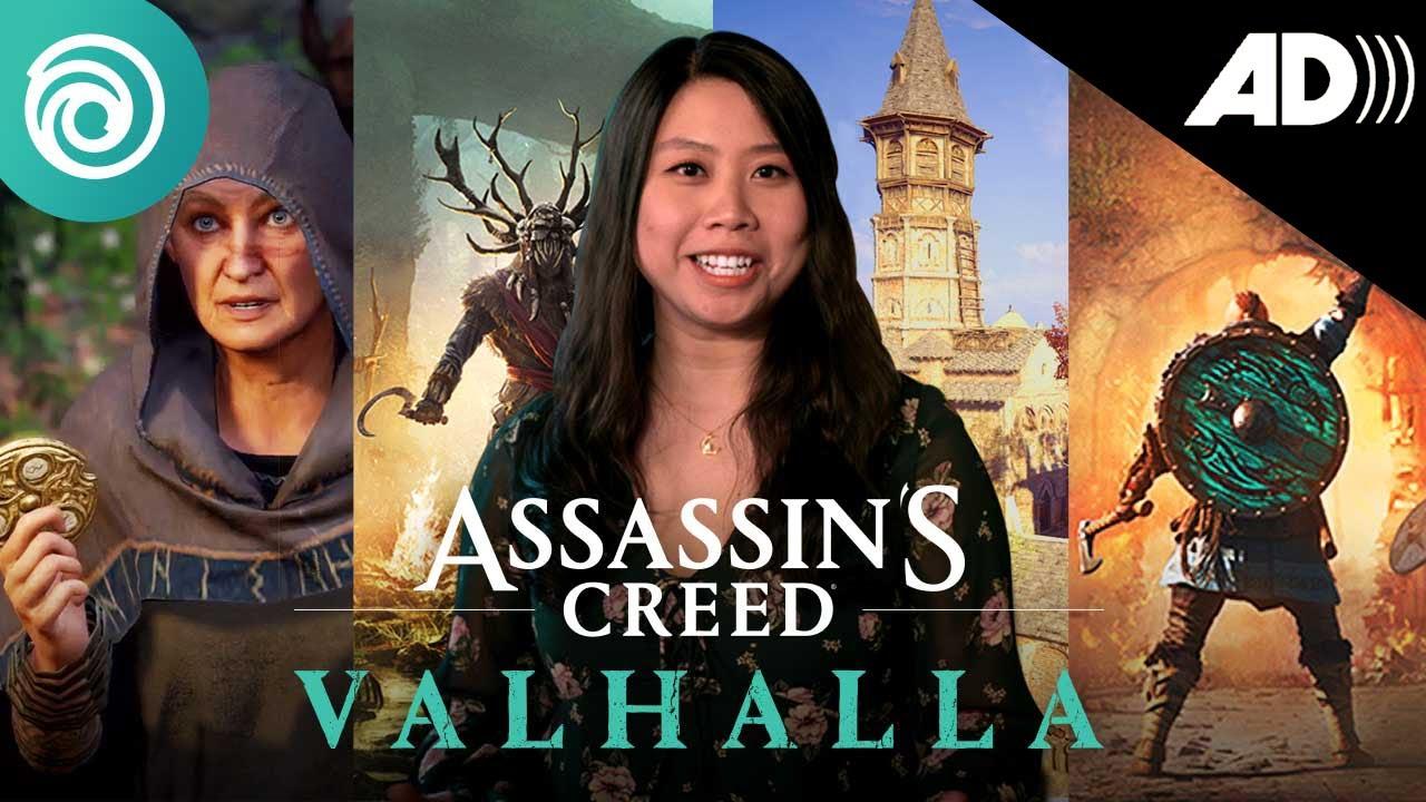 Assassin's Creed Valhalla - Ubisoft Forward June 2021 #AudioDescription