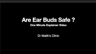 Should you use earbuds to clean the ears?