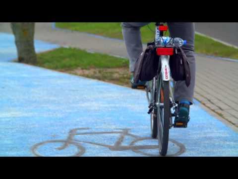 Polonya'da Yayalar ve Bisiklet Sürücüleri İçin Özel Aydınlatma Yöntemi Deneniyor