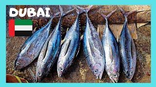 DUBAI, what they sell at the beautiful DEIRA FISH MARKET (UNITED ARAB EMIRATES)