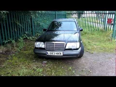 mercedes W124 300TD multivalve diesel start up (part one)