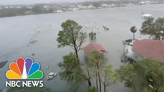 Videos Show Heavy Flooding Caused By Hurricane Sally In Florida And Alabama | NBC News NOW