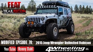 Jeep Rubicon, Modified Episode 70, Trailrecon