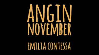 EMILIA CONTESSA - ANGIN NOVEMBER - lirik
