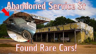 I Explorer A Forgotten Service St & Found Some Extremely Rare Vehicle's!!