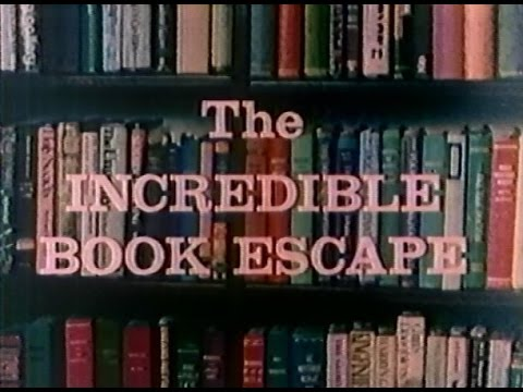 """CBS Library / ON TV - """"The Incredible Book Escape"""" (1980/1985)"""