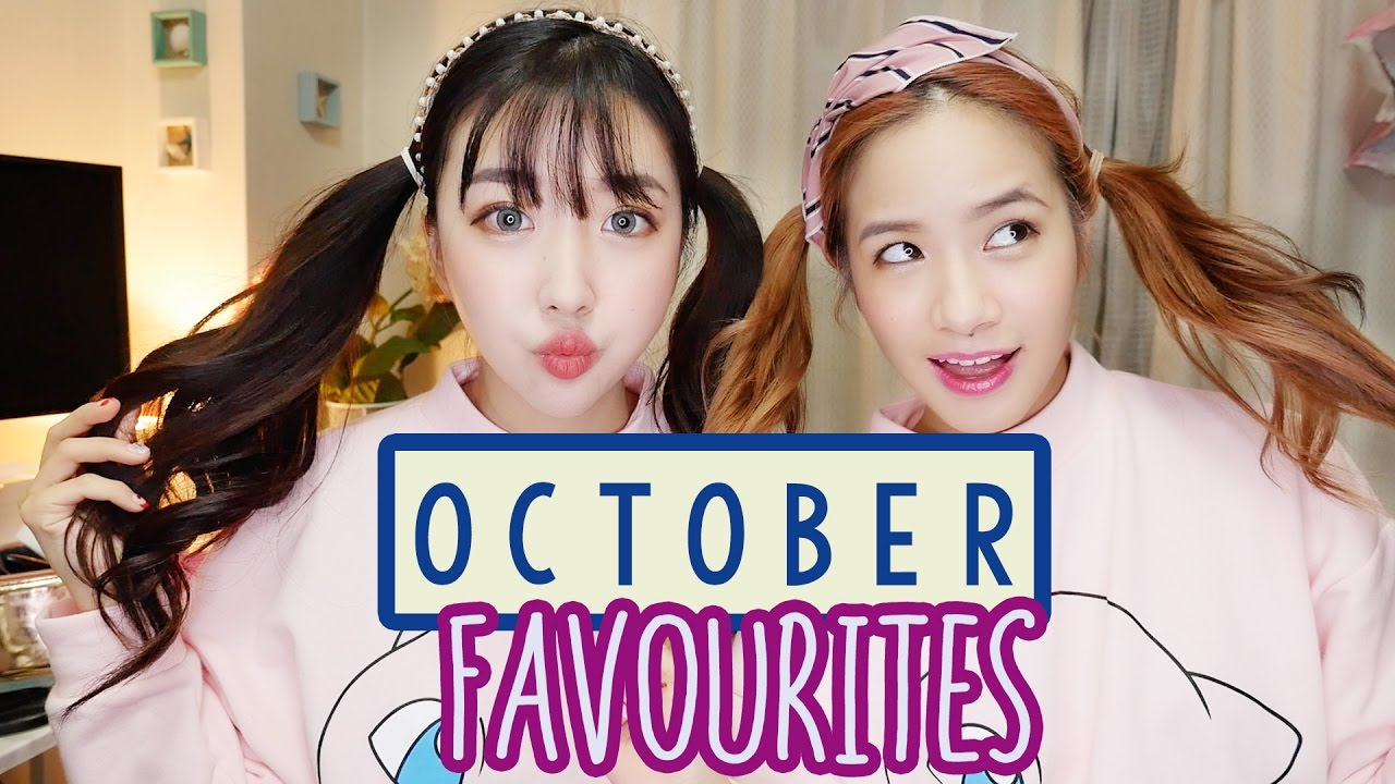 OCTOBER FAVOURITES | Ft. Sunnydahye