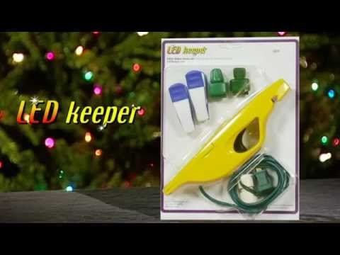 light keeper for led christmas lights -