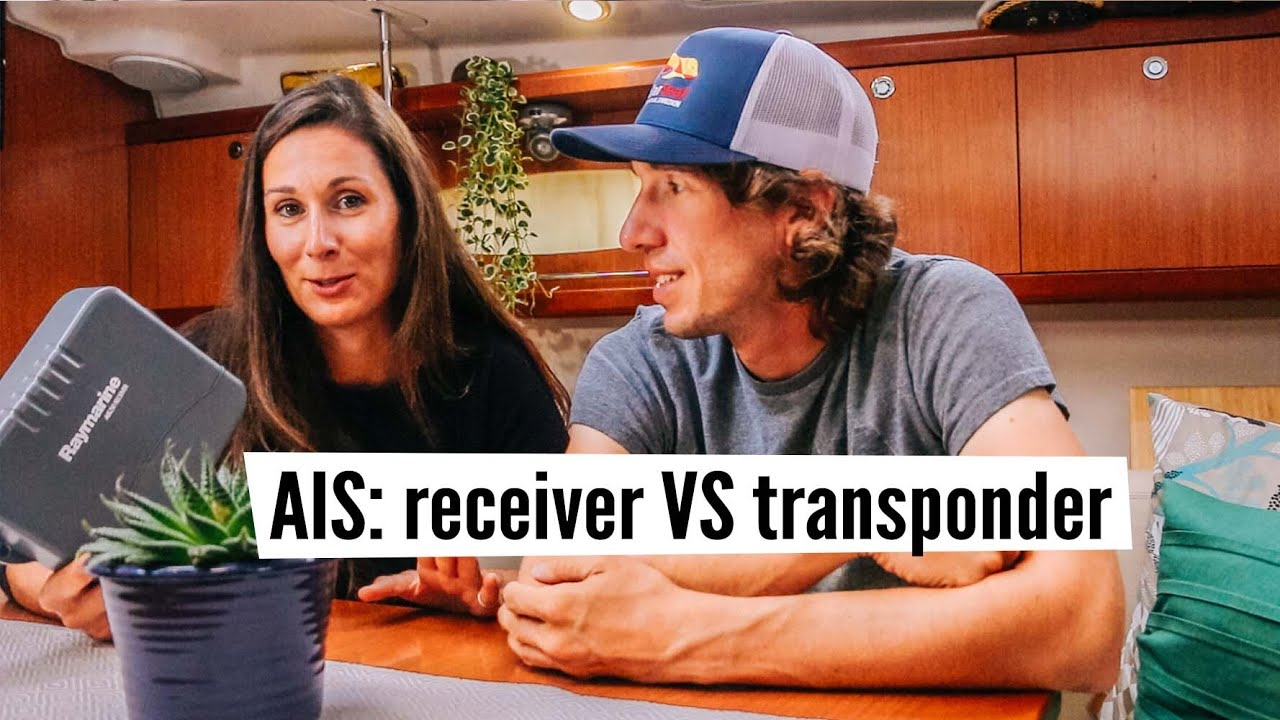 Upgrading to an AIS transponder, boatyard palace, and giving away our AIS  receiver! #24
