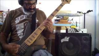 VOIVOD * TARGET EARTH *  BASS COVER