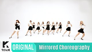 [Mirrored] WJSN(우주소녀)_Secret Choreography(비밀이야 거울모드 안무영상)_1theK Dance Cover Contest