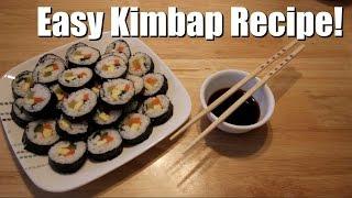 EASY KIMBAP HOW TO! | ITJUSTKELLI