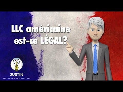 LLC américaine en Résidant en France ? Légal ?