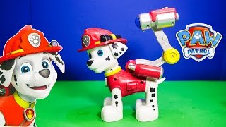 PAW PATROL Nickelodeon Paw Patrol Jumbo Marshall a Paw Patrol Video Toy Review
