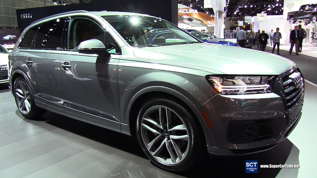 2018 Audi Q7 3 0t Quattro Exterior And Interior Walkaround 2017 La Auto Show Youtube