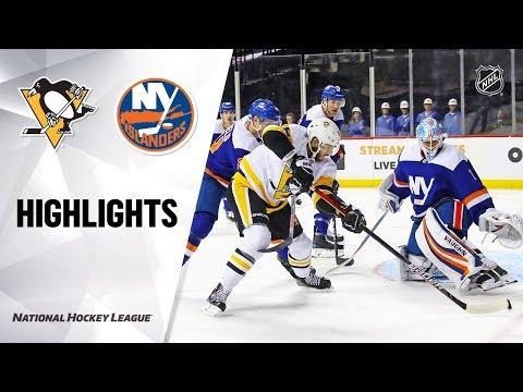 NHL Highlights   Penguins @ Islanders 11/21/19