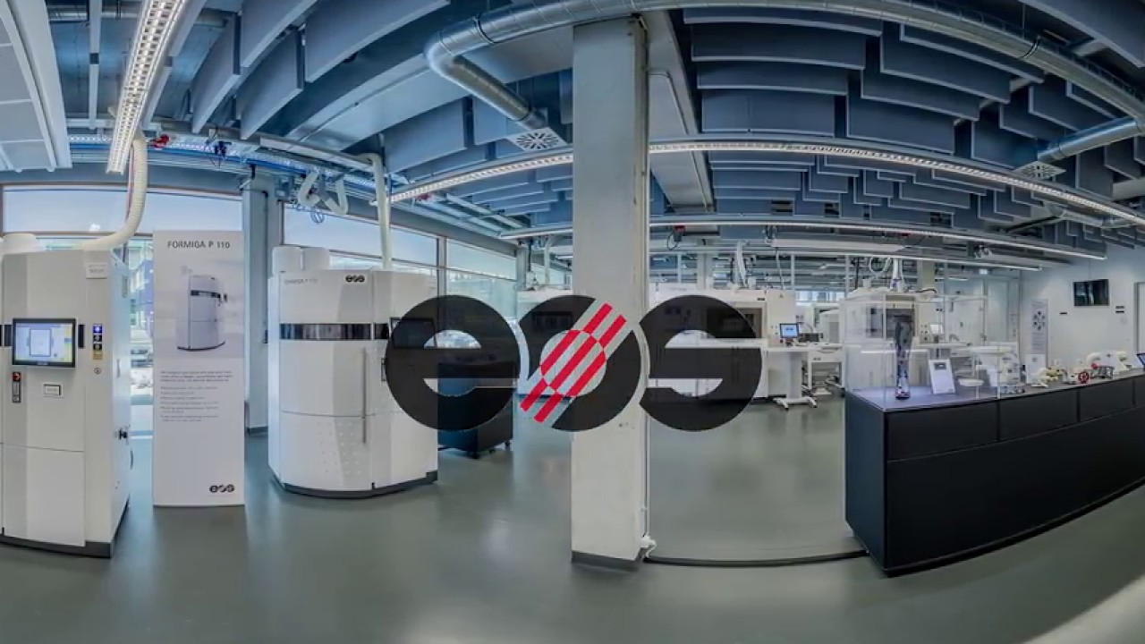 360° Video - The EOS 3D Printing Technology Center