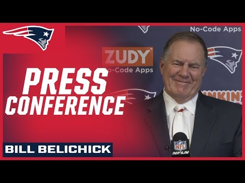 Bill Belichick on Red Sox & MNF victory vs. Bills