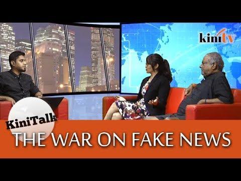 KiniTalk: The war on Fake News, featuring Nadeswaran & Michelle Ng