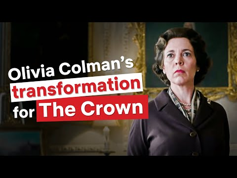 How Olivia Colman Becomes The Queen | The Crown