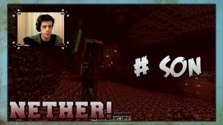 FAIL FAIL FAIL NETHER !! - Minecraft Hayatta Kalma Rehberi : Survival - Part SON 10